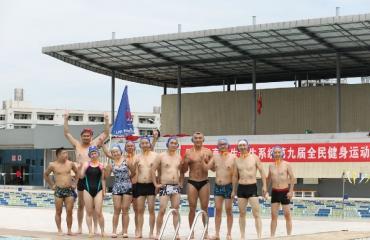 2017年9月3日我院代表队参加卫计委游泳、水球比赛