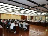 省卫健委2020年片区卫生健康行政许可现场审查观摩培训班在成医附院举行